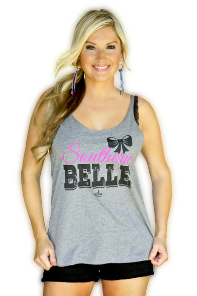 Southern Belle Raisin Hell Tank-SALE