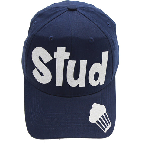 "Little Boys ""Stud Muffin"" Navy Baseball Cap"