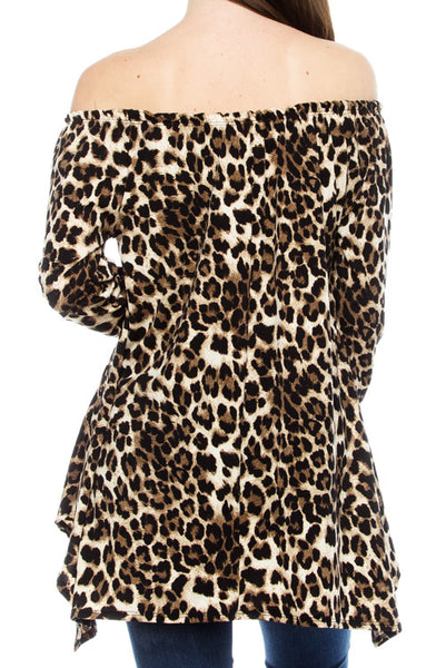 Stay Wild Leopard Cheetah Tunic