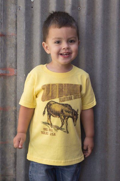 Toddler Old Burro Traditional Tortillas Del Rio Texas Tee Shirt