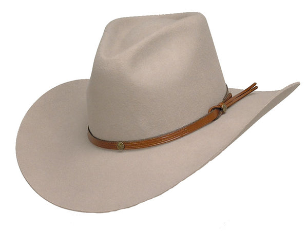 Sand Mountain Wool Pinch Front Cowboy Hat - Size 7 1/8 (57)