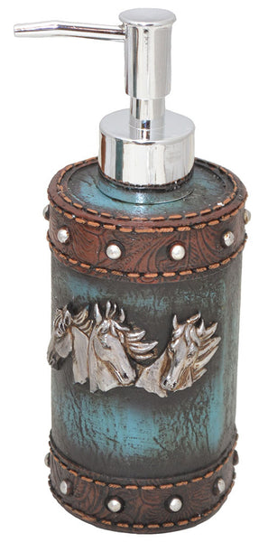Horse Heads Soap or Lotion Dispenser