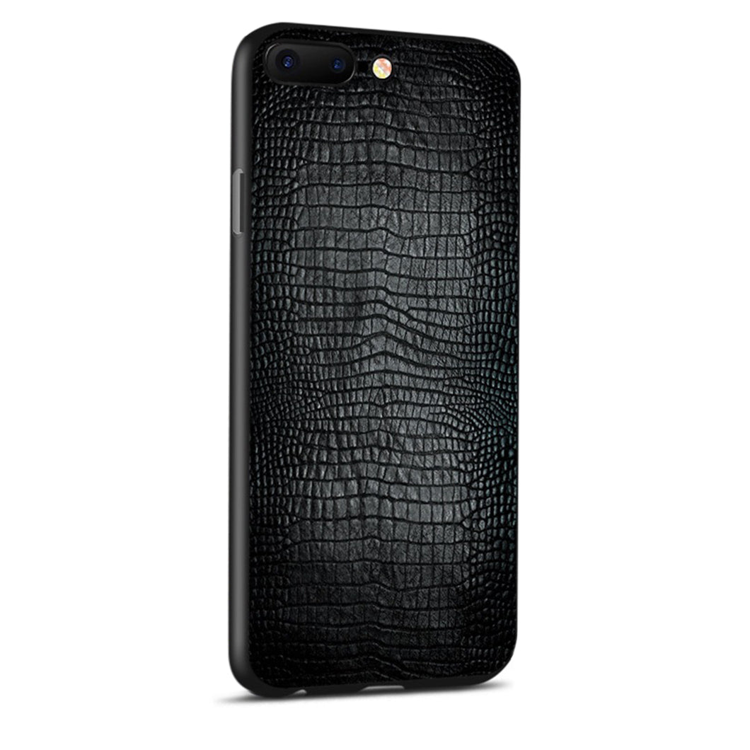 BRAMA Designer iPhone Case - Crocodile Skin