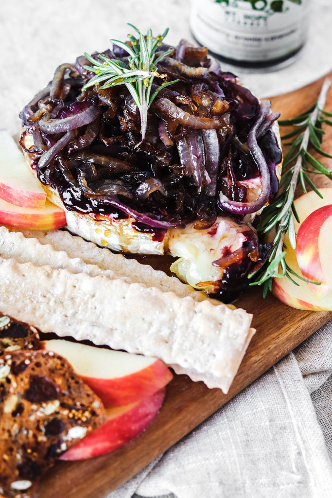 Sweet and Savory Baked Brie Appetizer