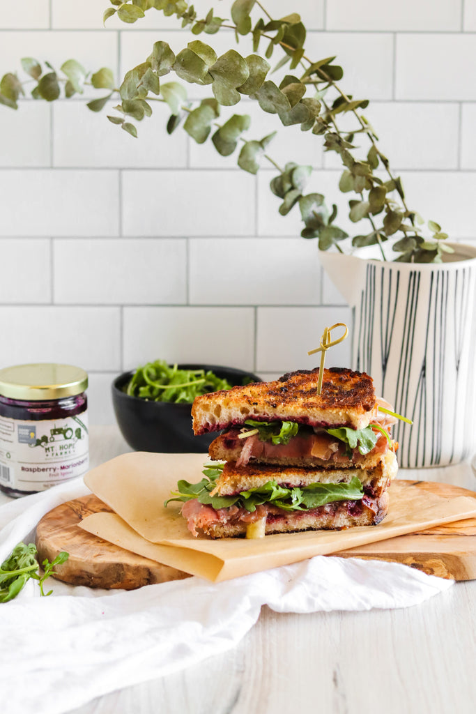 Fancy Brie Grilled Cheese
