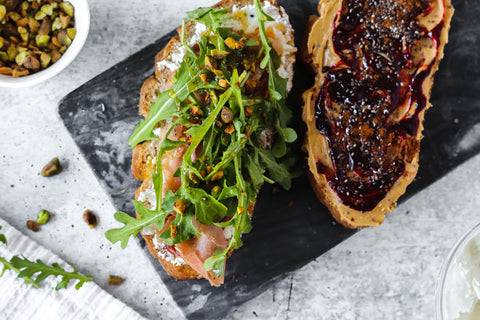 Sweet and Savory Gluten Free Toasts