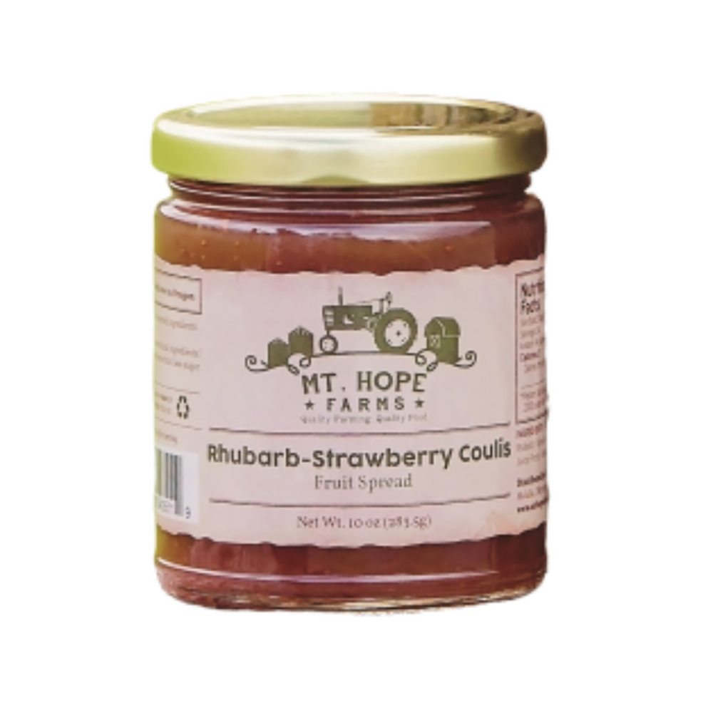 Strawberry Rhubarb Coulis