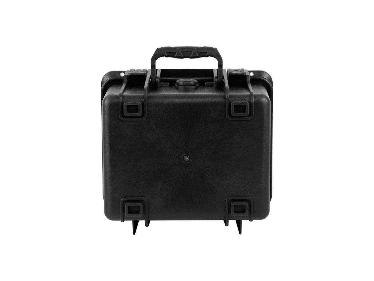 Monoprice Weatherproof Hard Case with Customizable Foam, 10 x 9 x 7, Black