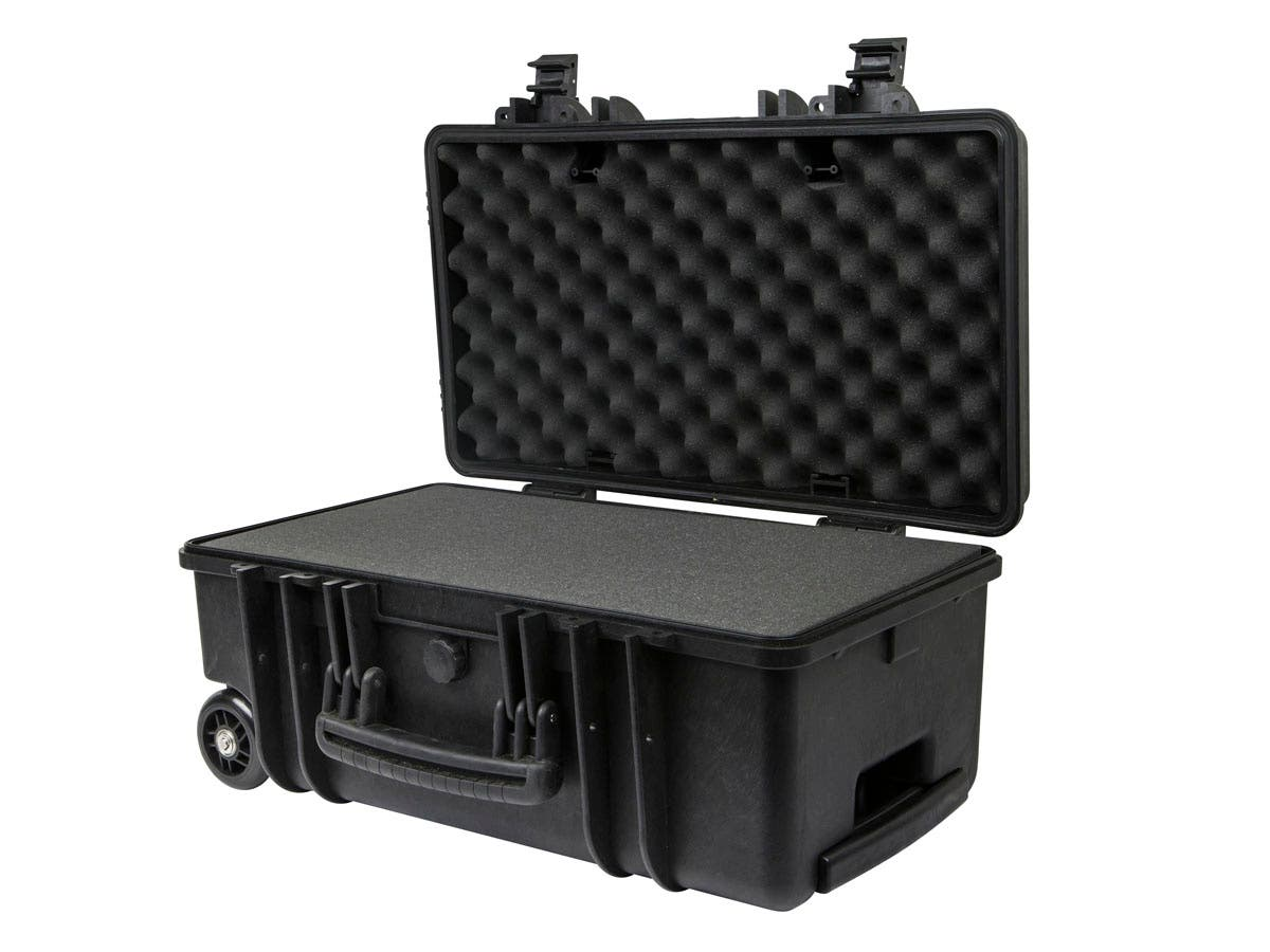 "Weatherproof Hard Case with Customizable Foam, 22"" x 14"" x 10"" by Monoprice"