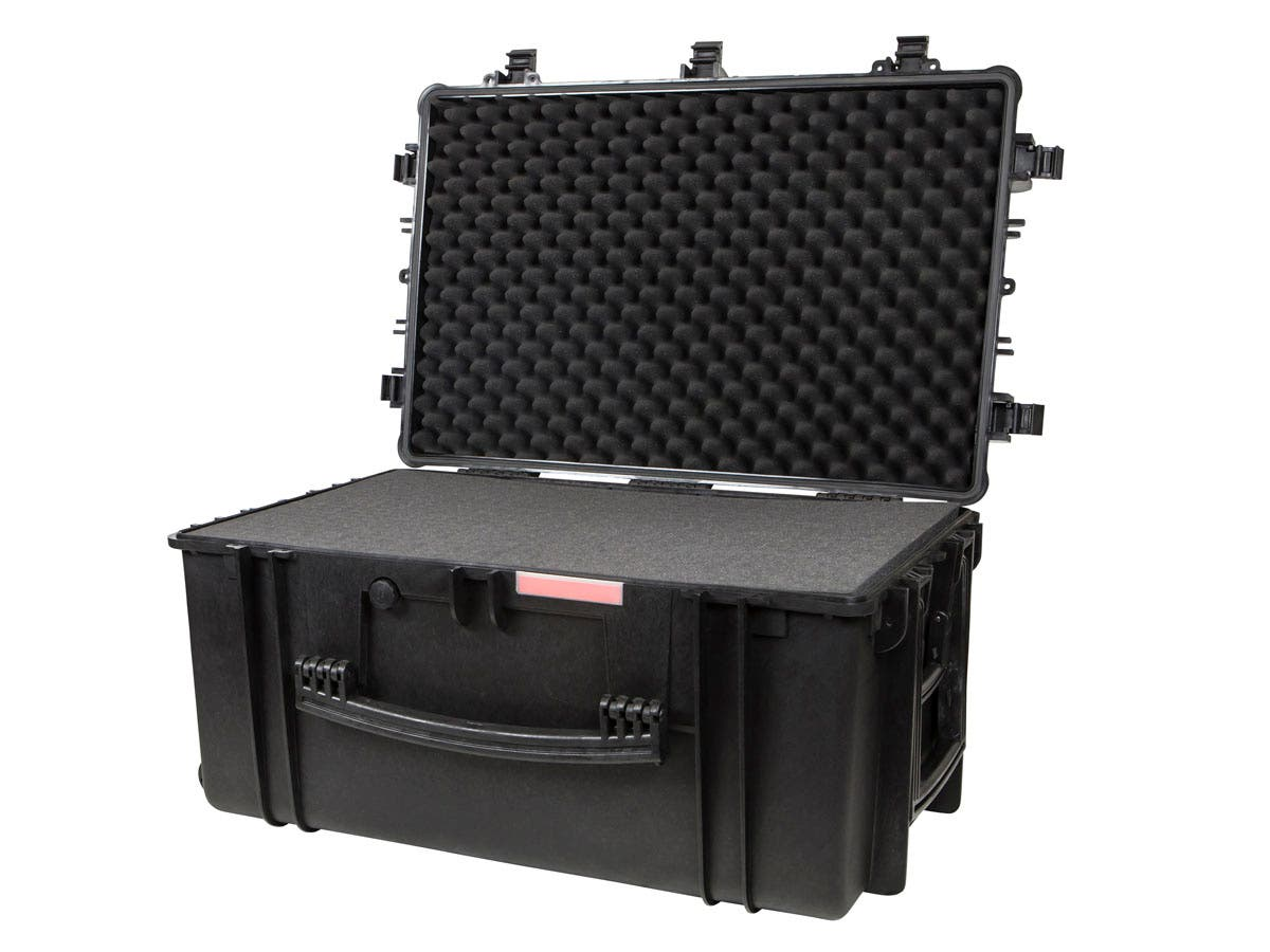 Weatherproof Hard Case - 33 x 22 x 17 in, IP67 Level Dust And Water Protection With Wheels And Customizable Foam by Monoprice