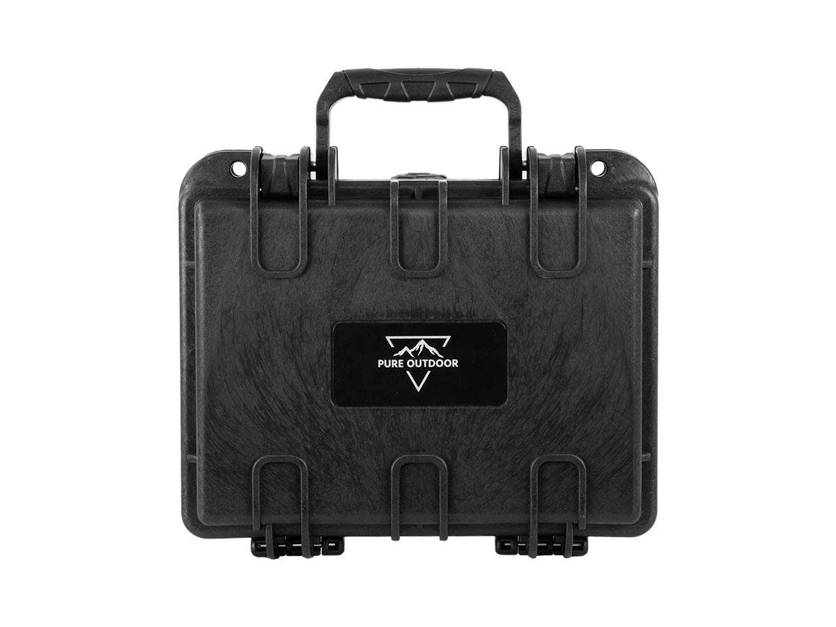 "Weatherproof Hard Case with Customizable Foam, 10"" x 8"" x 4"" by Monoprice"