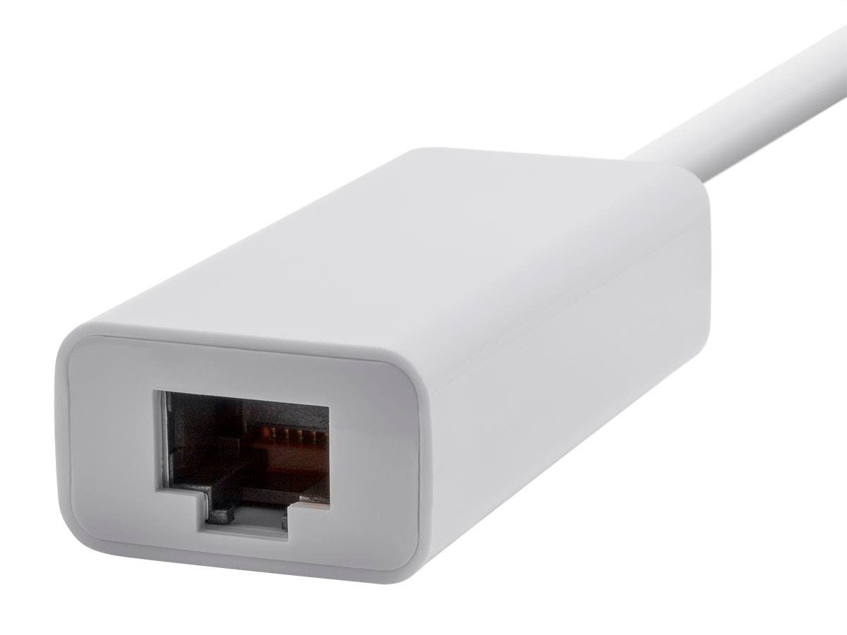 USB-C to Gigabit Ethernet Adapter | Network Adapter | RJ45 | White | Select Series