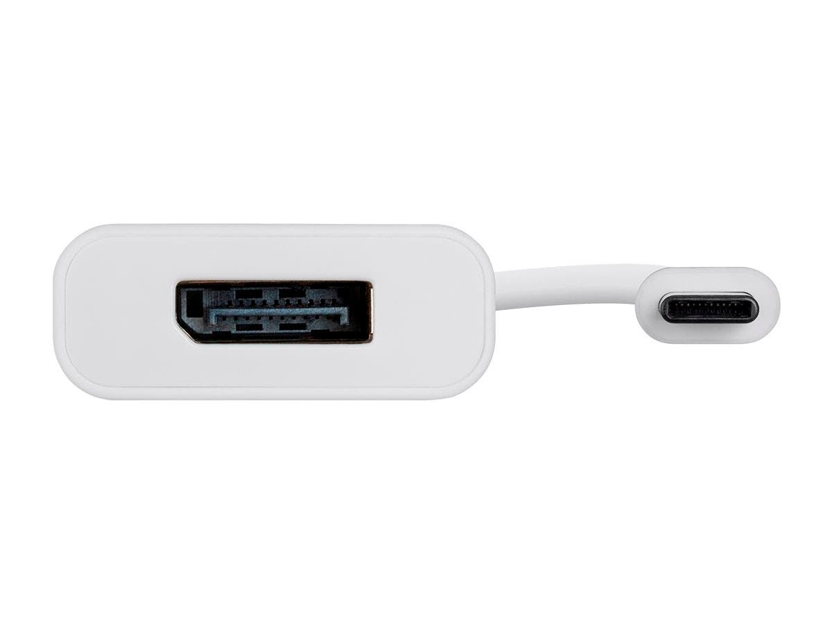 USB-C to DisplayPort Adapter | 4K@60hz | Portable | Plug & Play | White | Select Series