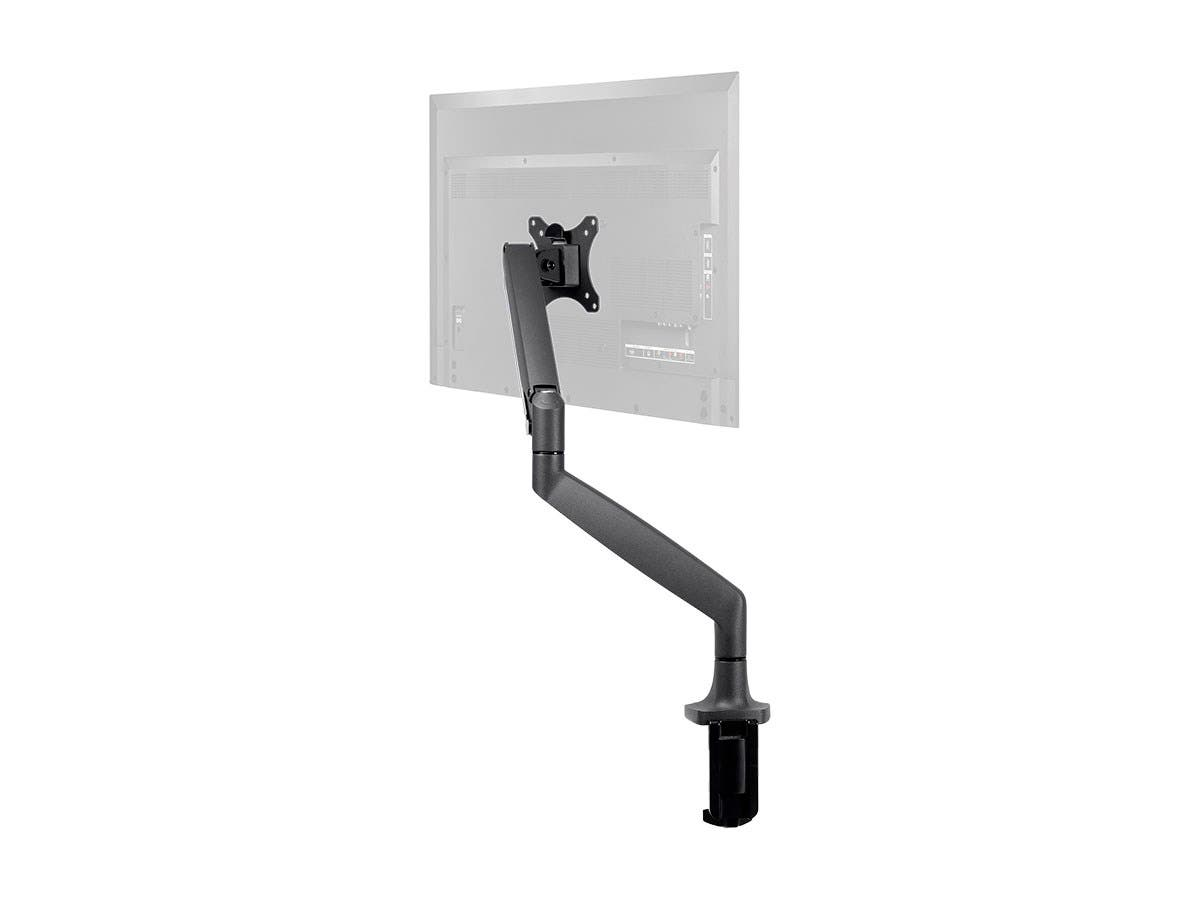 Workstream Adjustable Gas Spring Desk Mount for 15-34in Monitors