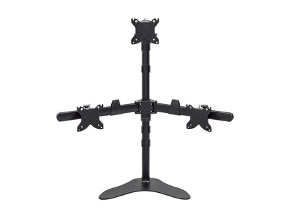 Monoprice Triple Monitor Pyramid Free Standing Desk Mount for 15~30in Monitors Main Image