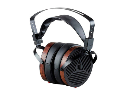 Monolith M1060 Over Ear Planar Magnetic Headphones - Black/Wood With 106 mm Driver, Open Back Design, Comfort Ear Pads For Studio/Professional by Monoprice