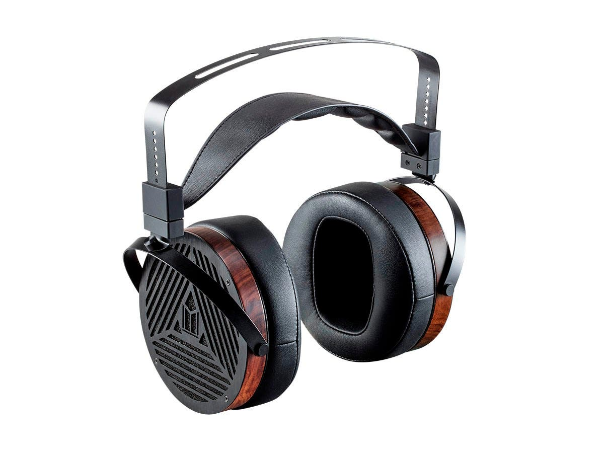 Monolith M1060 Over Ear Planar Magnetic Headphones | With 106 mm Driver | Open Back Design | Comfort Ear Pads For Studio/Professional | Black/Wood