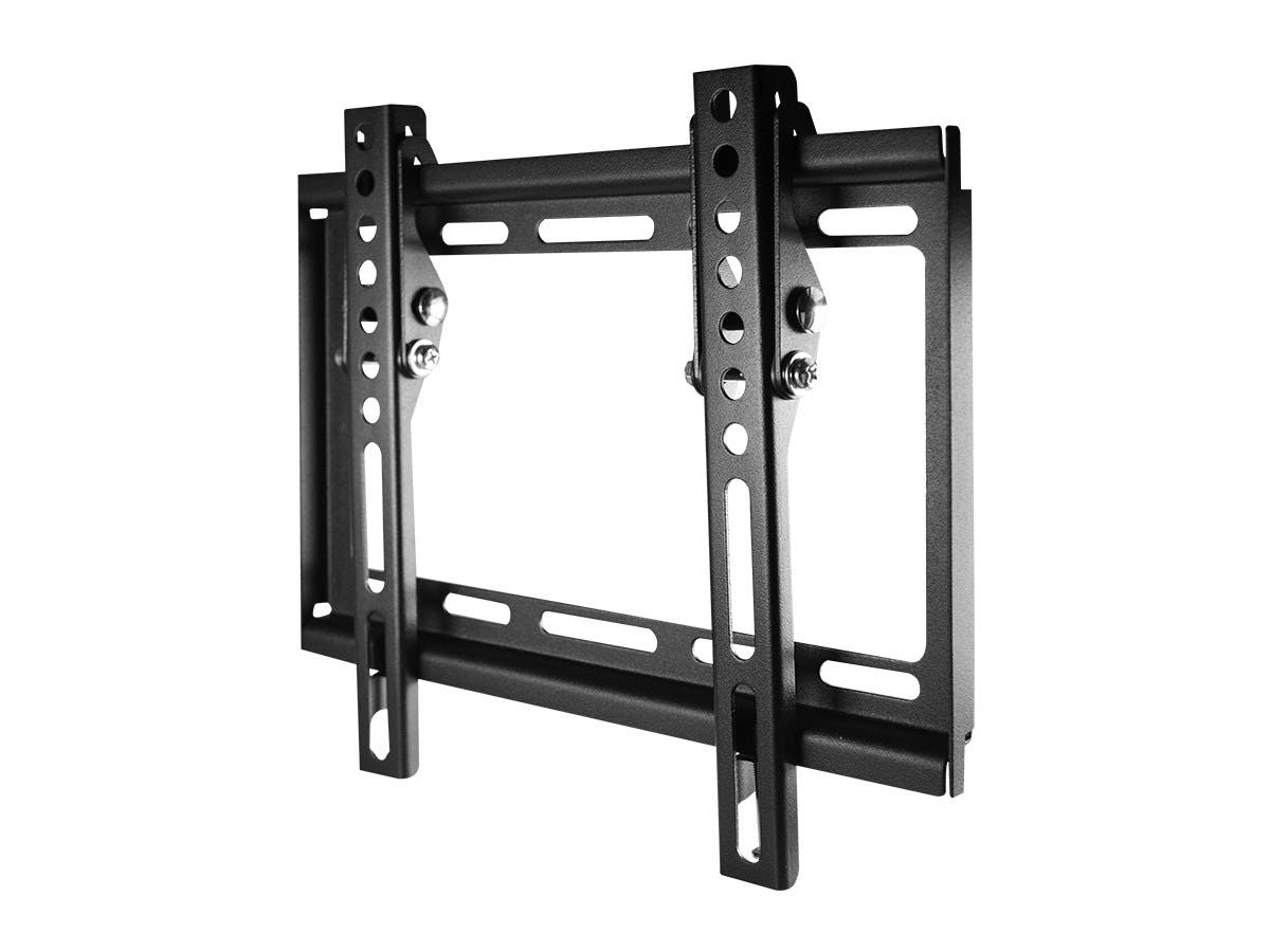 Monoprice EZ Series Tilt TV Wall Mount Bracket For TVs Up to 42in, Max Weight 35 kg (77lbs), VESA Patterns Up to 200x200, UL Certified