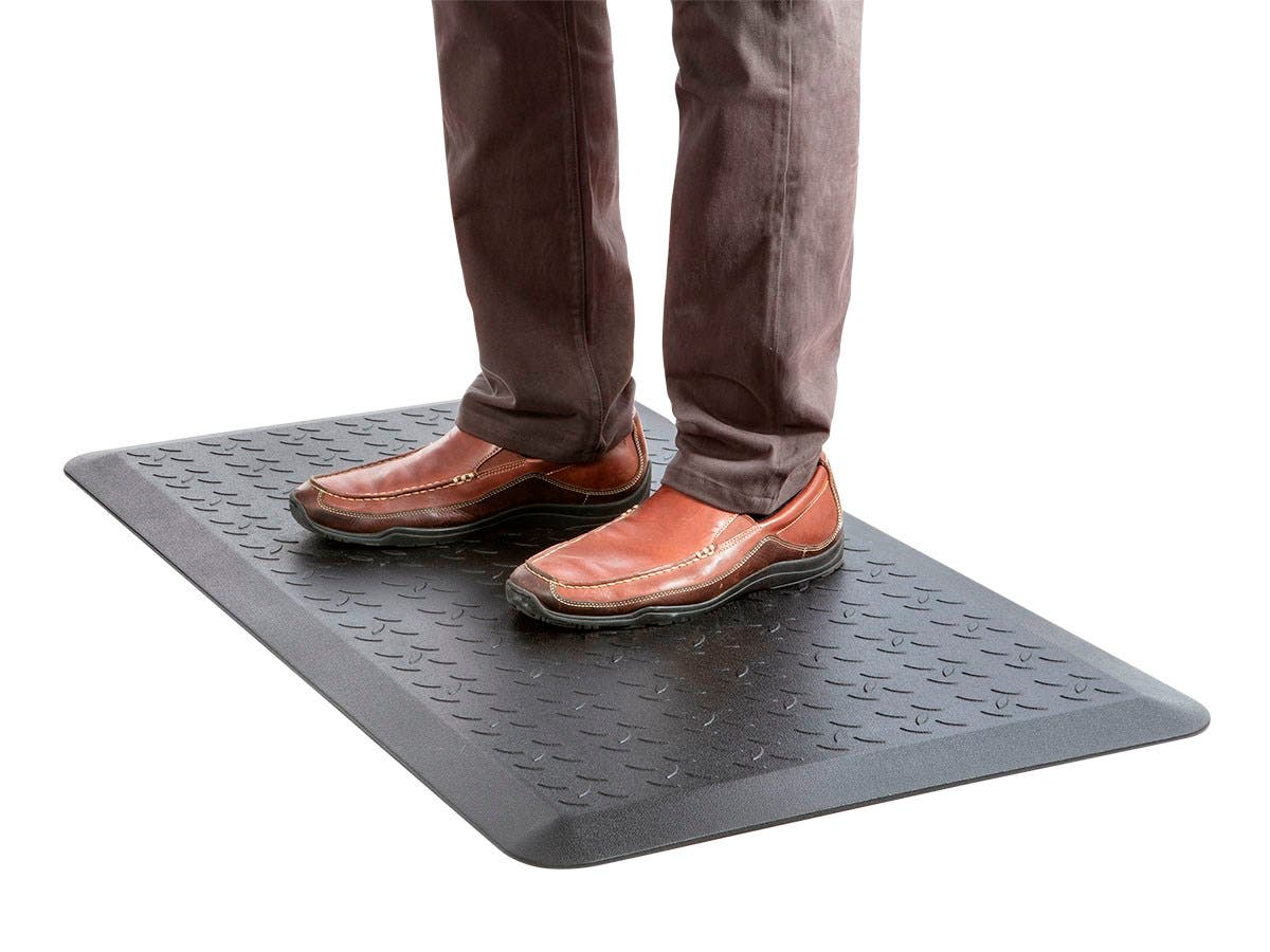 Workstream Sit-Stand Anti-Fatigue Mat Large by Monoprice