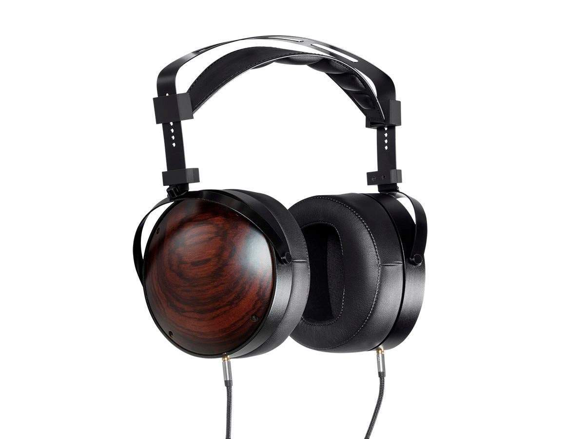 Monolith M1060C Over Ear Planar Magnetic Headphones | With 106mm Driver | Closed Back Design | Comfort Ear Pads For Studio/Professional | Black/Wood