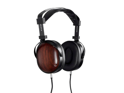 Monolith M565C Over Ear Planar Magnetic Headphones - Black/Wood With 106 mm Driver, Closed Back Design, Comfort Ear Pads For Studio/Professional by Monoprice