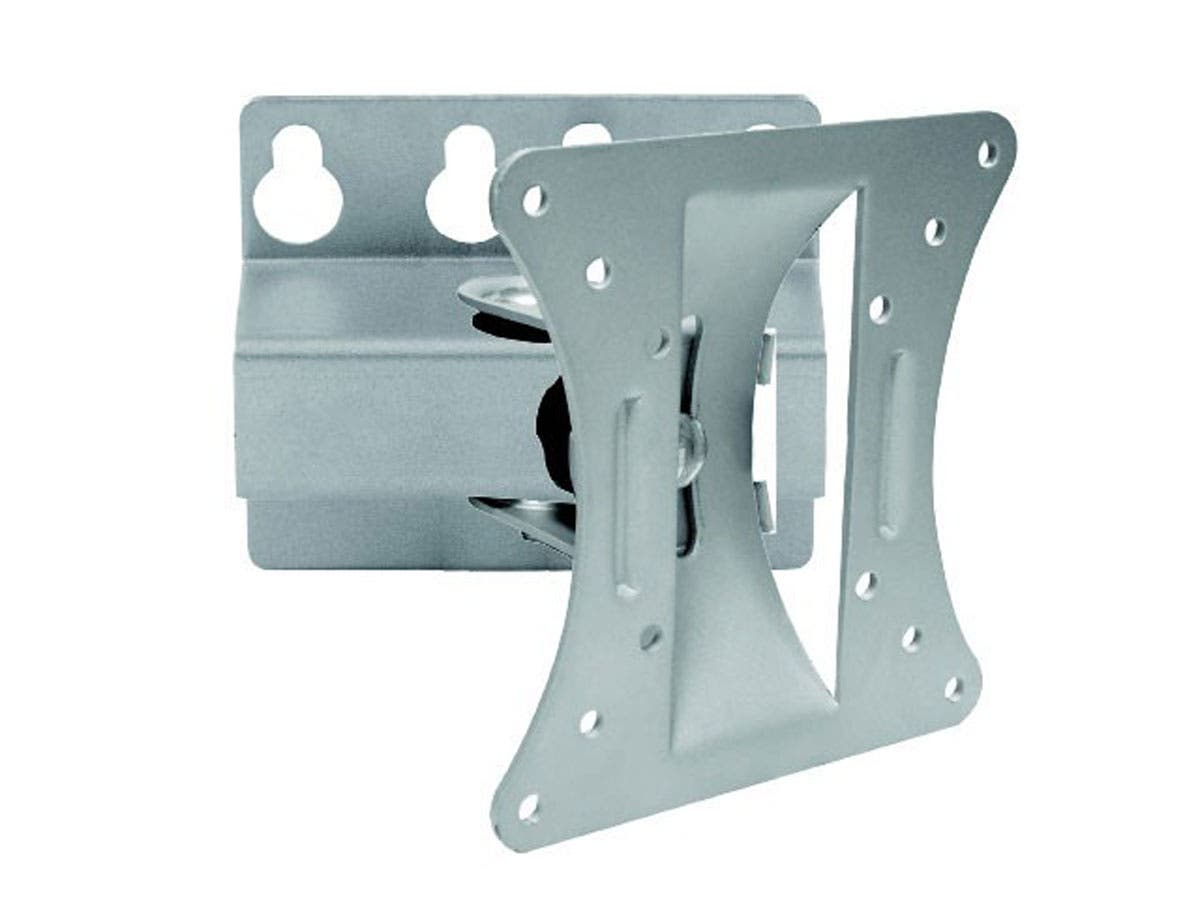 Tilt TV Wall Mount Bracket  For TVs 13in to 27in  Max Weight 66lbs  VESA Patterns Up to 100x100  Works with Concrete & Brick by Monoprice