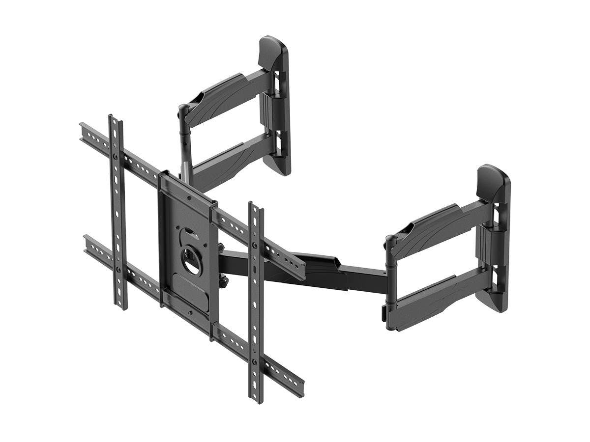 Full-Motion Articulating TV Wall Mount Bracket For TVs 37in - 70in, Max Weight 45 kg (99 lbs), VESA Patterns Up to 600x400, Rotating, by Monoprice