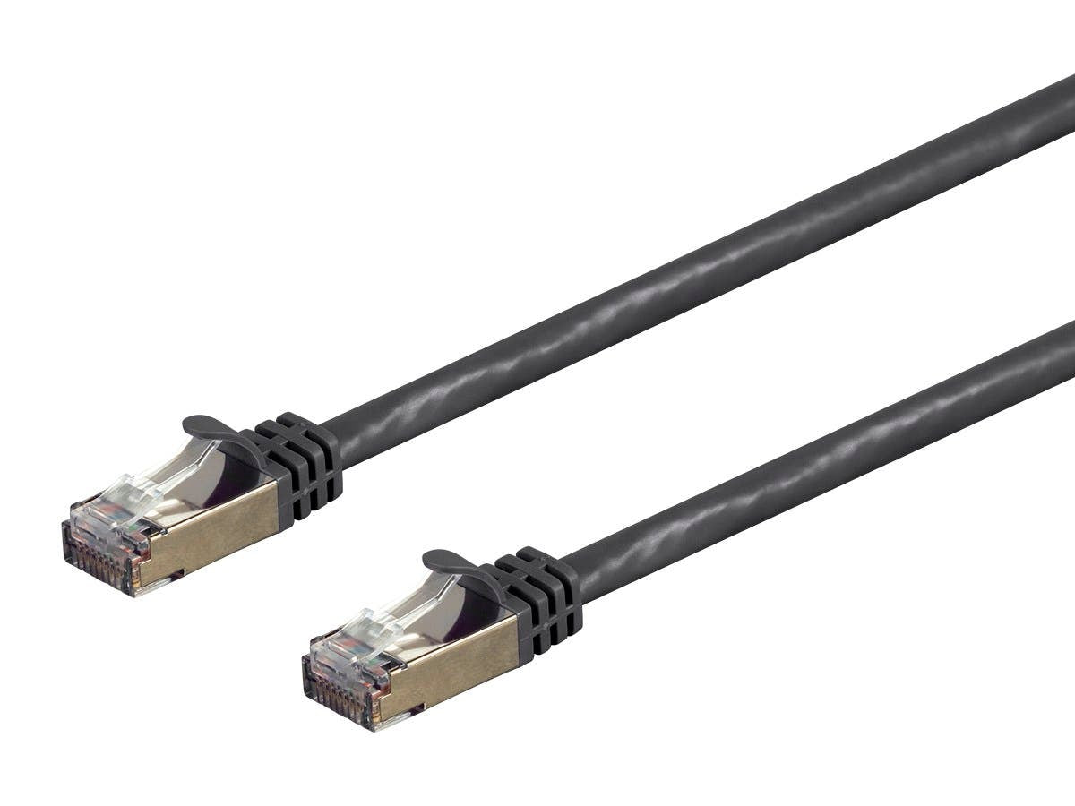 Entegrade Series Cat7 26AWG  Shielded (S/FTP) Ethernet Network Patch Cable   Stranded  600Mhz by Monoprice
