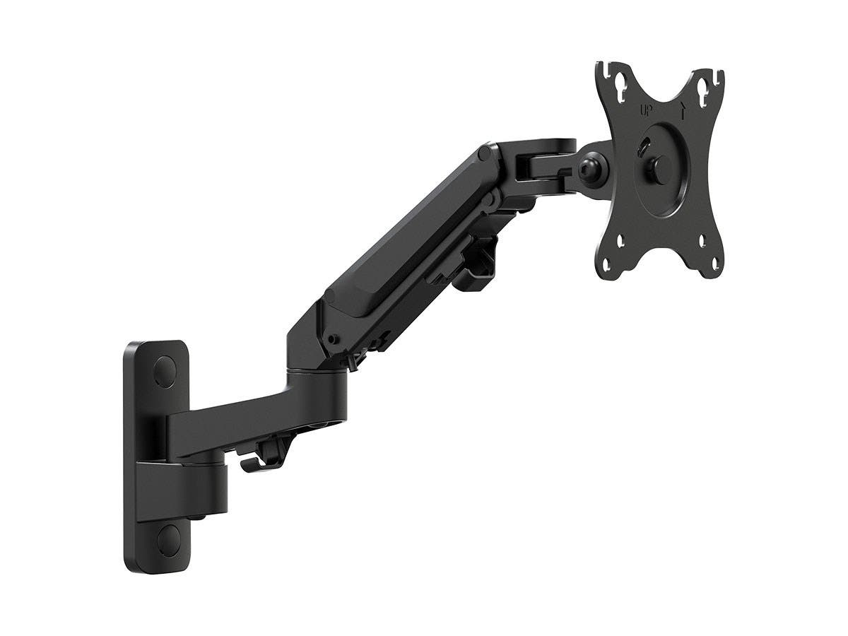 2-Segment Wall Mount For Monitors Up To 27 Inch | Adjustable Gas Spring | Workstream Collection