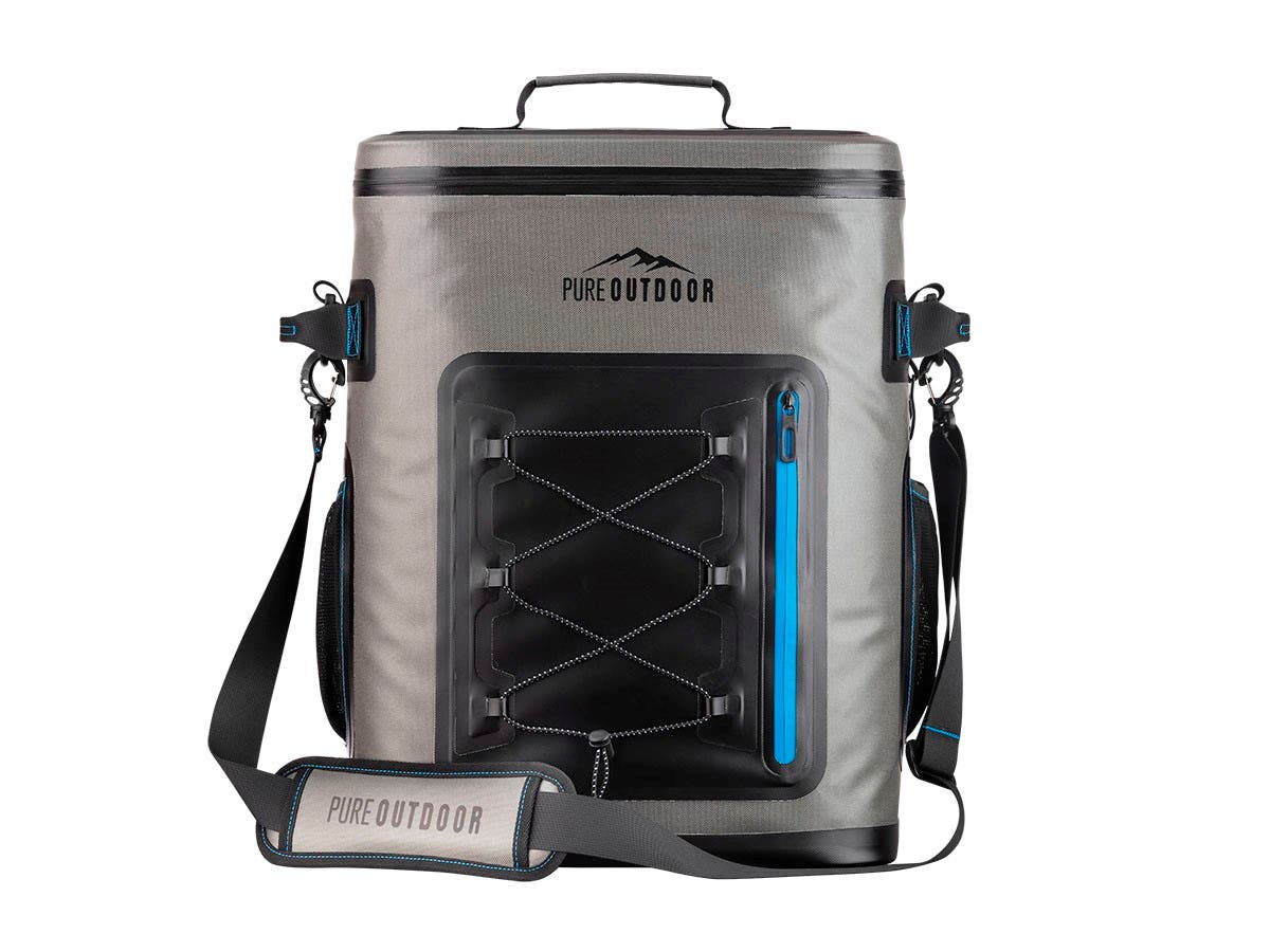 Pure Outdoor by Monoprice Backpack Cooler, 42 Can