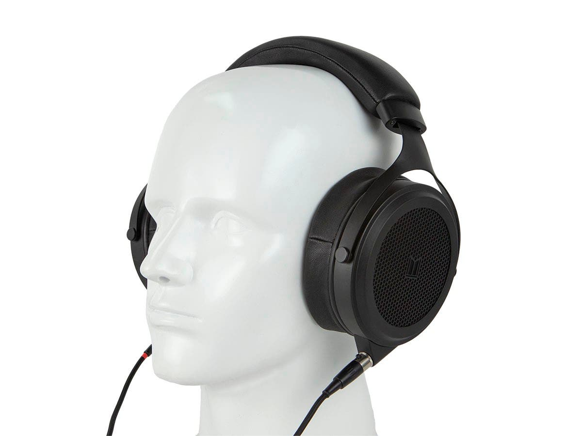 Monolith M1570 Over Ear Open Back Balanced Planar Headphones, With Plush, Padded Headband, Removable Earpads, Low Distortion by Monoprice