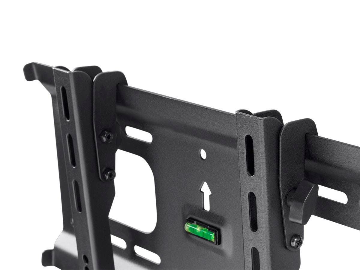 Monoprice EZ Series Tilt TV Wall Mount Bracket for TVs 32in to 70in, Max Weight 70 kg (154 lbs), VESA Patterns Up to 400x400