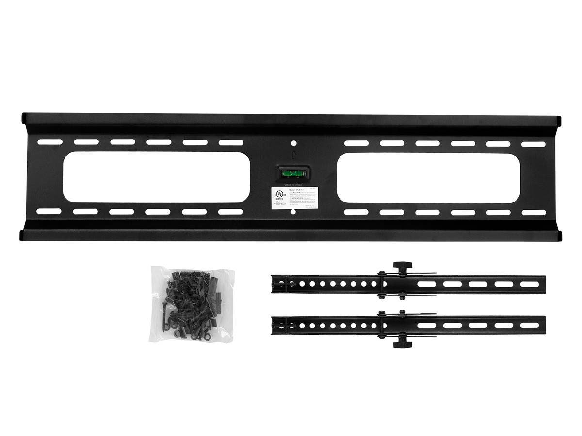 Extra Wide Tilt TV Wall Mount Bracket for TVs 37in to 70in  Max Weight 165 lbs  VESA Patterns Up to 800x400  UL Certified by Monoprice