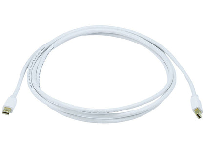 Monoprice 6ft 32AWG Mini DisplayPort Cable White