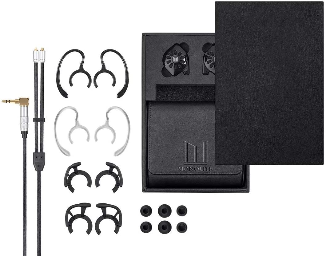 Monolith by Monoprice M300 In Ear Planar Magnetic Earphones