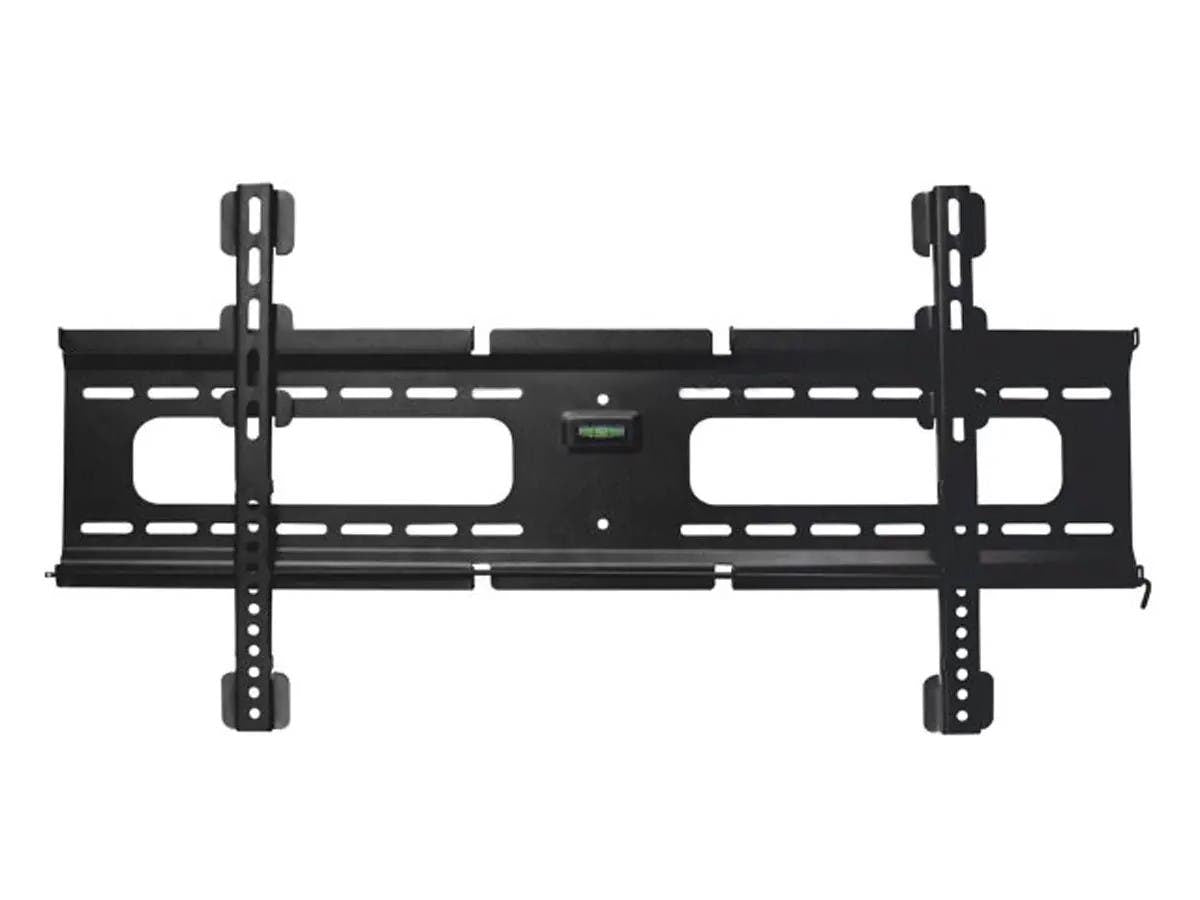 Monoprice Commercial Series Fixed TV Wall Mount Bracket For TVs 37in to 70in  Max Weight 165 lbs  VESA Patterns Up to 800x400  Security Brackets  Works with Concrete & Brick  NO LOGO