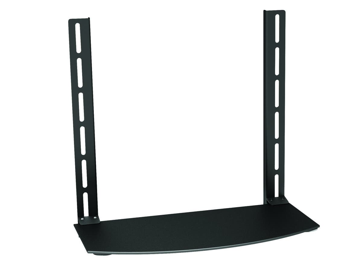 DVD Bracket (Max 22 lbs  VESA 400x380)  Black by Monoprice