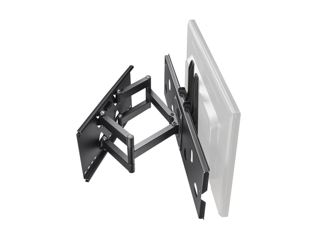 Titan Series Full-Motion Articulating TV Wall Mount Bracket for TVs 32in to 60in  Max Weight 79,3 kg (175 lbs)  Extension Range of 5.0in to 20.0in  VESA Up to 750x450  Works with Concrete & Brick by Monoprice