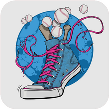 Load image into Gallery viewer, Baseball Sneakers