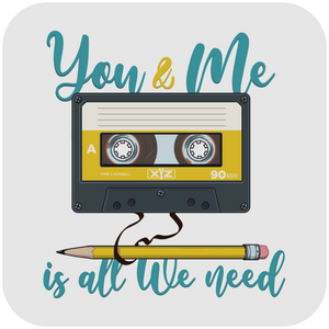 You & Me Is All We Need (Crop top)