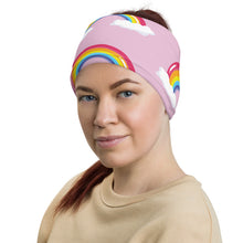 Load image into Gallery viewer, Pink Neck Gaiter Everything will be fine