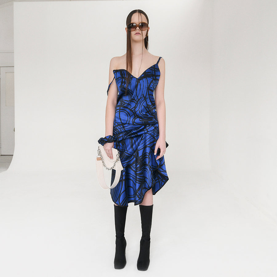 <b>N°5</b> <p><b>Kodiak Dress</b> <p></b>blue/black