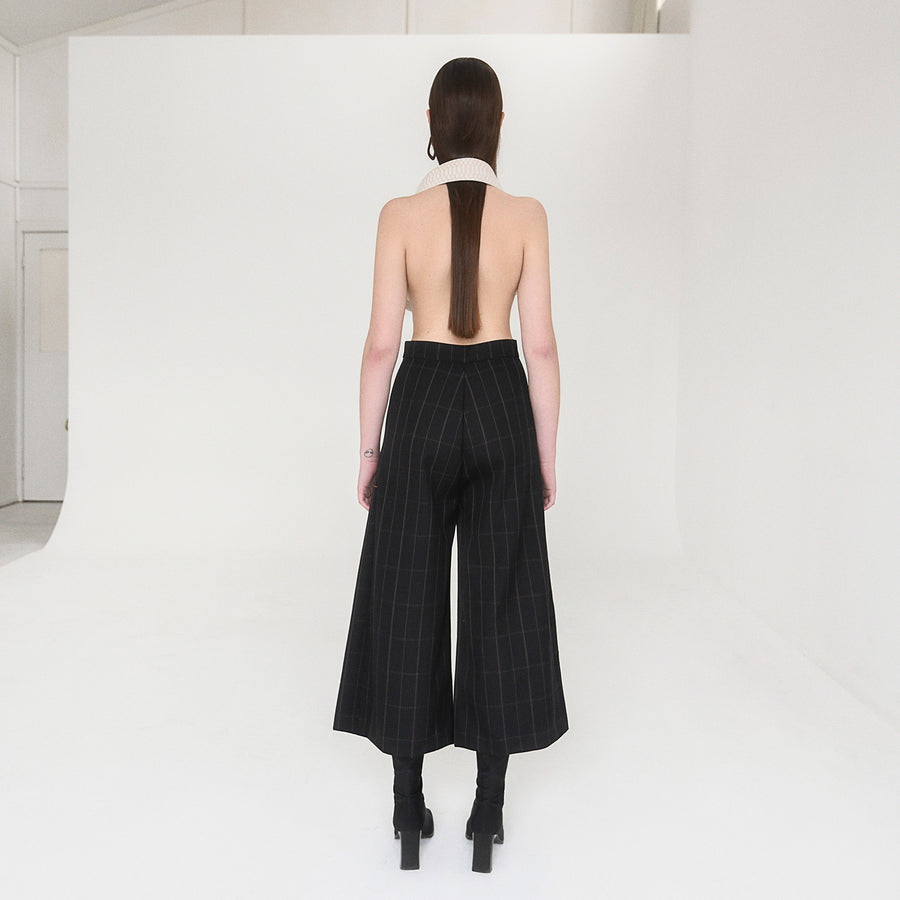 <b>N°5</b> <p><b>Mica Pant</b> <p></b>black/orange