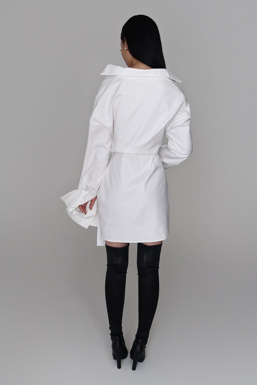 <b>N°6</b> <p><b>Xandy Dress</b> <p></b>off white