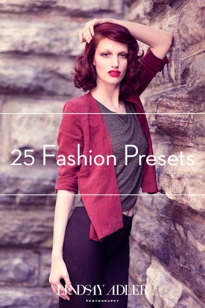 25 Lightroom Fashion Presets