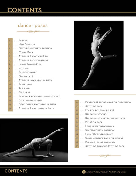 Fine Art Nude Dancer Posing Guide