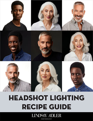 Headshot Lighting Recipe Guide