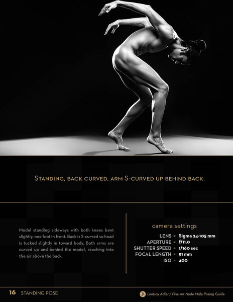 Fine Art Nude Male Posing Guide