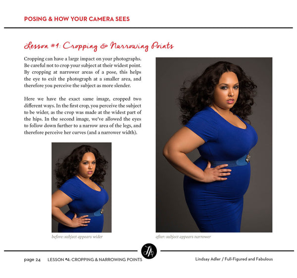 Full-Figured and Fabulous Posing Guide
