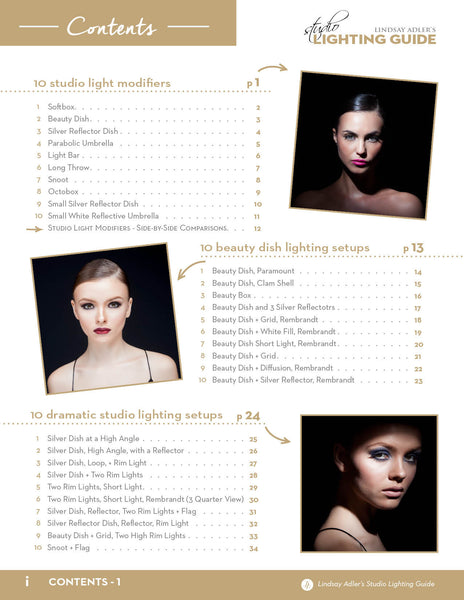 Lindsay Adler's Studio Lighting Guide